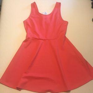 Dark Coral H&M Summer Dress (front/back)